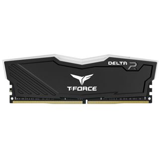 32GB TeamGroup T-Force Delta RGB schwarz DDR4-3200 DIMM CL16 Dual Kit