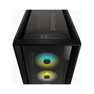 Corsair 5000X RGB Midi Tower ohne Netzteil schwarz
