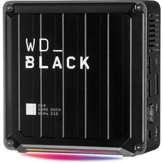 1000GB WD Black D50 Game Dock Thunderbolt3 GB Ethernet USB3.2 NVMe SSD