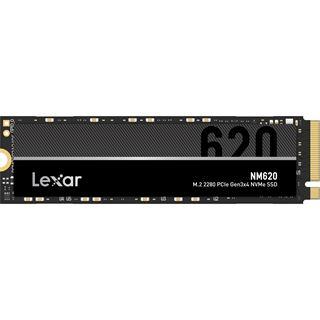 1000GB Lexar NM620 M.2 PCIe 3.0 x4 NVMe 3D-NAND TL (LNM620X001T-RNNNG)