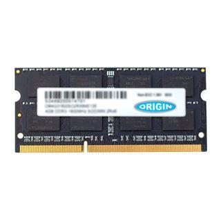 4GB (1x 4096MB) Origin Storage DDR3-1600 SODIMM 2RX8