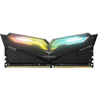 32GB TeamGroup T-Force Night Hawk RGB schwarz DDR4-3200 DIMM CL16