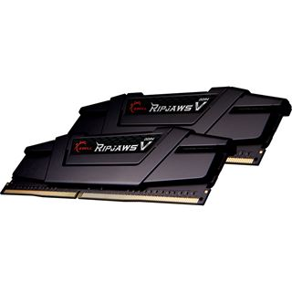 16GB G.Skill RipJaws V schwarz DDR4-4800 DIMM CL19 Dual Kit