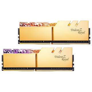 32GB G.Skill Trident Z Royal gold DDR4-4266 DIMM CL16 Dual Kit