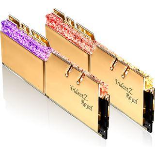 16GB G.Skill Trident Z Royal gold DDR4-4800 DIMM CL17 Dual Kit