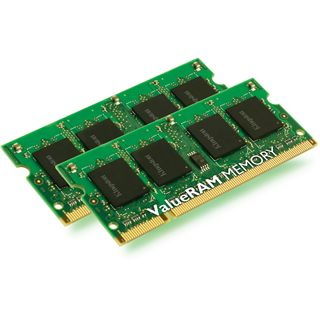 2GB Kingston ValueRAM Apple DDR2-667 SO-DIMM CL5 Dual Kit