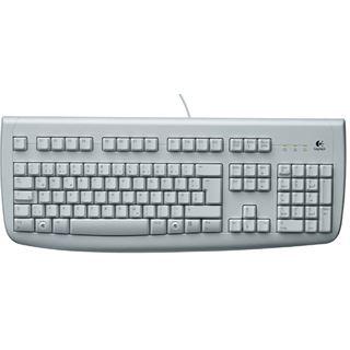 Logitech 250 Deluxe Tastatur Beige Deutsch PS/2 OEM