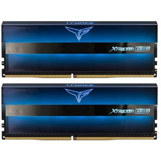 64GB TeamGroup T-Force Xtreem ARGB DDR4-3600 DIMM CL18 Dual Kit