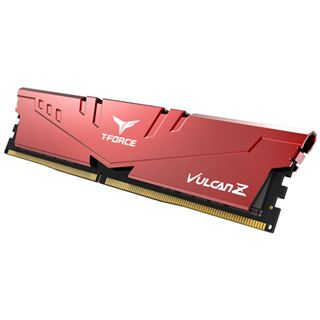 32GB TeamGroup T-Force Vulcan Z rot DDR4-3200 DIMM CL16 Dual Kit