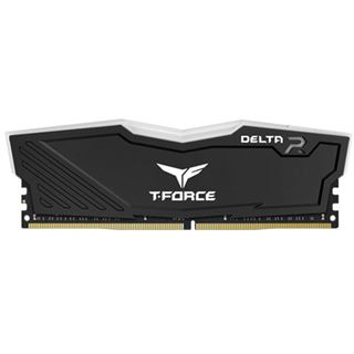 32GB TeamGroup T-Force Delta RGB schwarz DDR4-3600 DIMM CL18 Dual Kit
