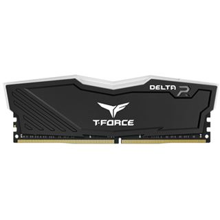 16GB TeamGroup T-Force Delta RGB schwarz DDR4-3600 DIMM CL18 Dual Kit