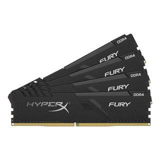 64GB Kingston FURY schwarz DDR4-3000 DIMM CL15 Quad Kit