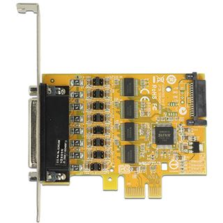 DeLock PCI Express Card > 4 x Serial with voltage supply -