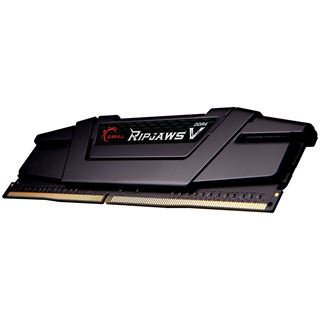 32GB G.Skill RipJaws V schwarz DDR4-3600 DIMM CL14 Quad Kit