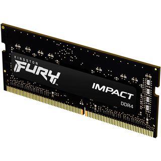 8GB Kingston FURY Impact schwarz DDR4-2666 SO-DIMM CL15 Single