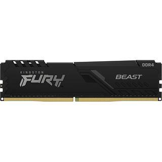 32GB (2x 16384MB) Kingston Fury Beast schwarz DDR4-3200MHz CL16