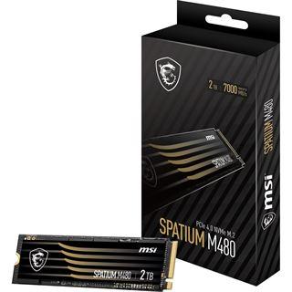 2000GB MSI Spatium M480 M.2 2280 PCIe 4.0 x4 3D NAND (S78-440Q150-P83)
