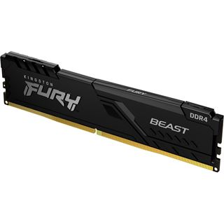 4GB Kingston FURY Beast DDR4-3200 DIMM CL16 Single
