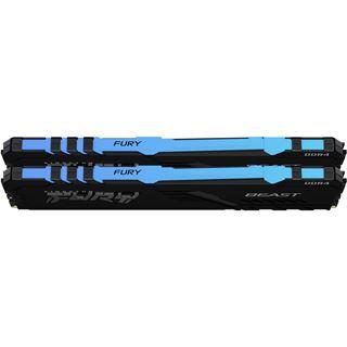 64GB Kingston FURY Beast RGB DDR4-3600 DIMM CL18 Dual Kit