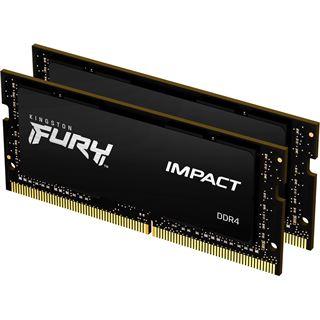 32GB (2x 16384MB) Kingston FURY Impact - DDR4 - SO DIMM 260-PIN -
