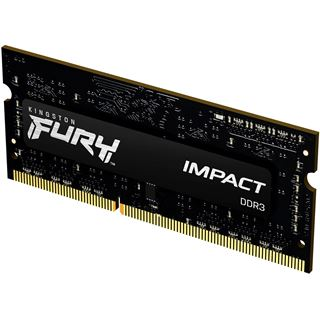 4GB (1x 4096MB) Kingston FURY Impact - DDR3L - SO DIMM 204-PIN - 1866