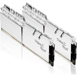 32GB G.Skill Trident Z Royal silber DDR4-3600 DIMM CL14 Dual Kit