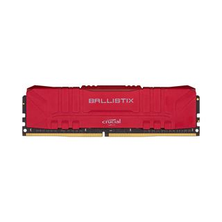 8GB Crucial Ballistix rot DDR4-3600 DIMM CL16 Single