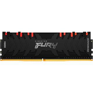 8GB Kingston FURY Renegade RGB DDR4-4000 DIMM CL19 Single