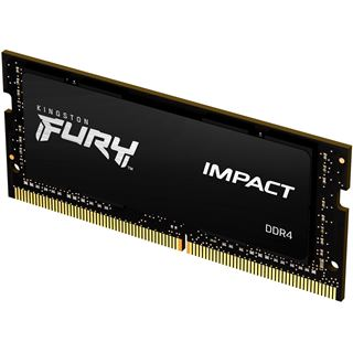 16GB (1x 16384MB) Kingston FURY Impact DDR4 - Modul SO DIMM 260-PIN -