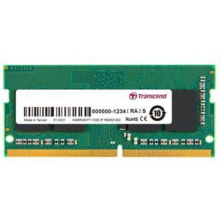 16GB (1x 16384MB) Transcend JM DDR4 3200MHz SO-DIMM CL22 1.2V