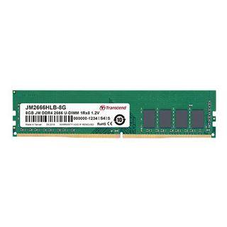 4GB (1x 4096MB) Transcend DDR4 3200MHz U-DIMM CL22 1.2V