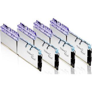 64GB G.Skill Trident Z Royal silber DDR4-4000 DIMM CL15 Octa Kit