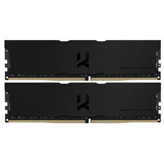 16GB GOODRAM IRDM Pro tiefschwarz DDR4-3600 DIMM CL18 Dual Kit
