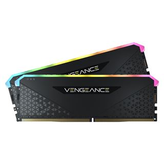 32GB Vengeance Corsair RGB RS DDR4-3200MHz DIMM, schwarz