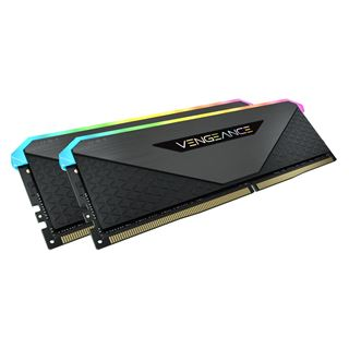 16GB Vengeance Corsair RGB DDR4-3200MHz, schwarz