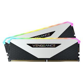 16GB Vengeance Corsair RGB DDR4-3200MHz, weiss