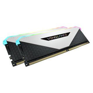 16GB Vengeance Corsair RGB DDR4-3600MHz (2x8GB), weiss