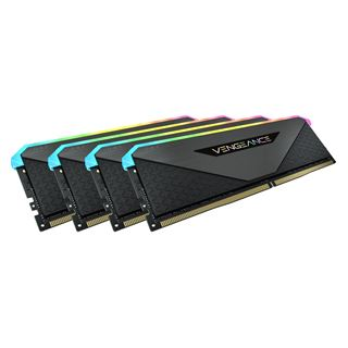 32GB Vengeance Corsair RGB DDR4-3200MHz (4x8GB), schwarz
