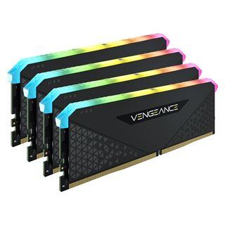 32GB Vengeance Corsair RGB RS DDR4-3200MHz DIMM, (4x8GB), schwarz