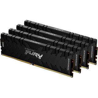 Kingston FURY Renegade - DDR4 - Kit - 64 GB: 4 x 16 GB - DIMM 288-PIN