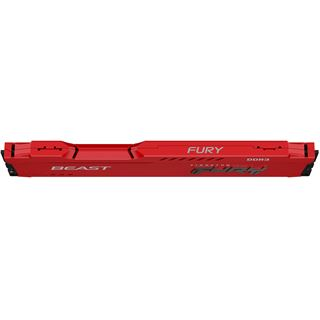 Kingston FURY Beast rot DDR3 - Modul - 4 GB - DIMM 240-PIN - 1600 MHz