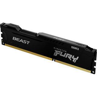 Kingston FURY Beast schwarz DDR3 - Modul - 4 GB - DIMM 240-PIN - 1866