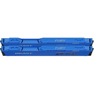 Kingston FURY Beast blau DDR3 - Kit - 8 GB: 2 x 4 GB - DIMM 240-PIN -
