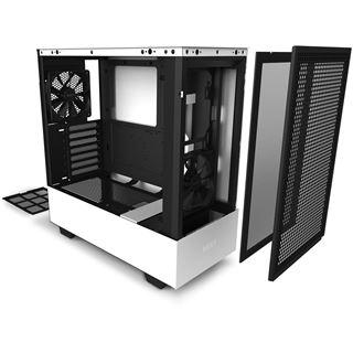 NZXT H510 Flow MidiTower Glasfenster weiß
