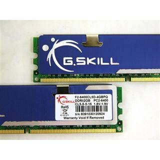4GB G.Skill PQ Series DDR2-800 DIMM CL5 Dual Kit