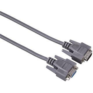 (€7,17*/1m) 1.80m Hama VGA Verlängerungskabel 15pol Stecker
