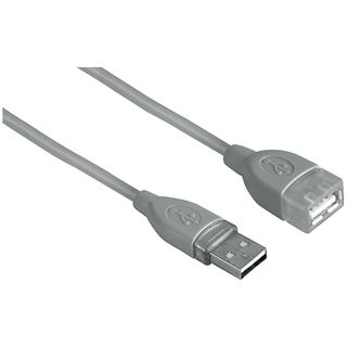 (€5,50*/1m) 1.80m Hama USB2.0 Verlängerungskabel USB A