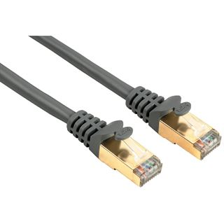 (€19,80*/1m) 0.50m Hama Cat. 5e Patchkabel S/UTP RJ45 Stecker