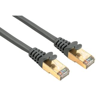 (€1,29*/1m) 10.00m Hama Cat. 5e Patchkabel S/UTP RJ45 Stecker