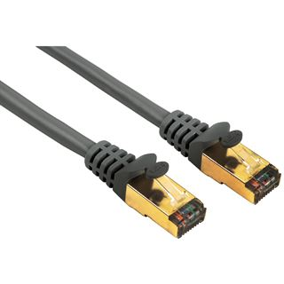 (€0,99*/1m) 15.00m Hama Cat. 5e Patchkabel S/UTP RJ45 Stecker
